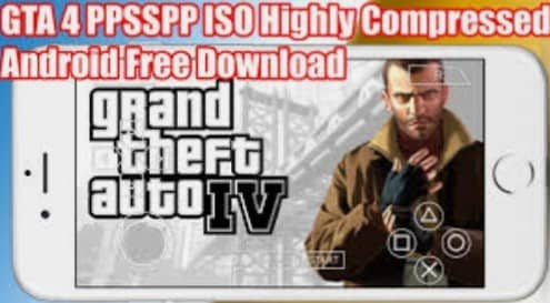 GTA 4 PSP ISO Highly Compressed Download