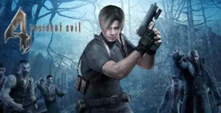 Resident Evil 4 PPSSPP Zip File Download Android