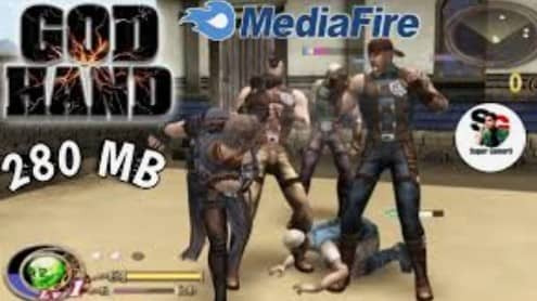 God Hand PPSSPP ISO Zip File Download for Android