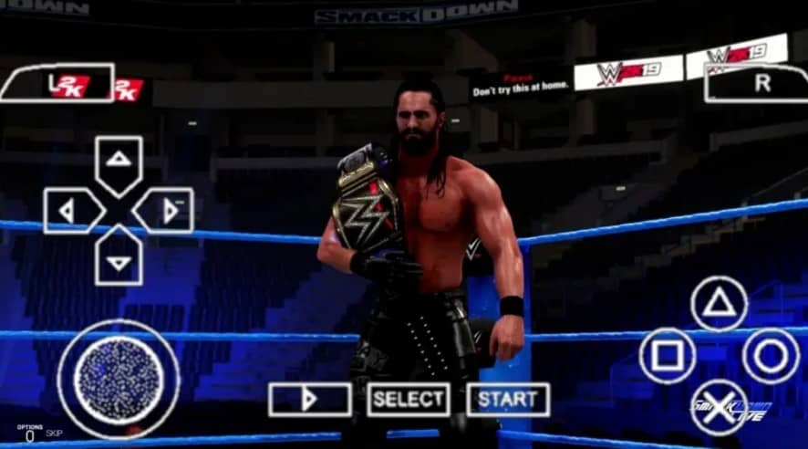 About WWE 2K21 PPSSPP