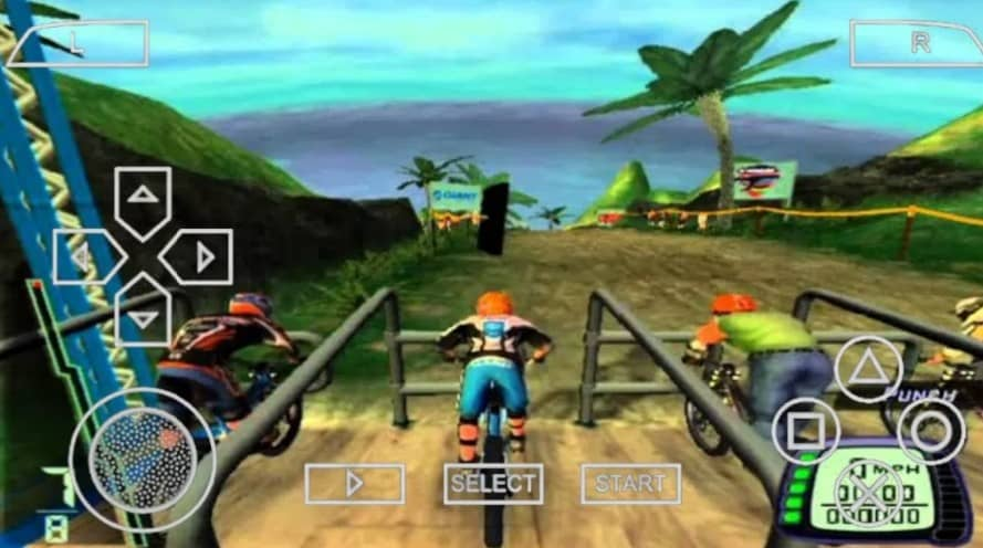 About Downhill Domination PPSSPP