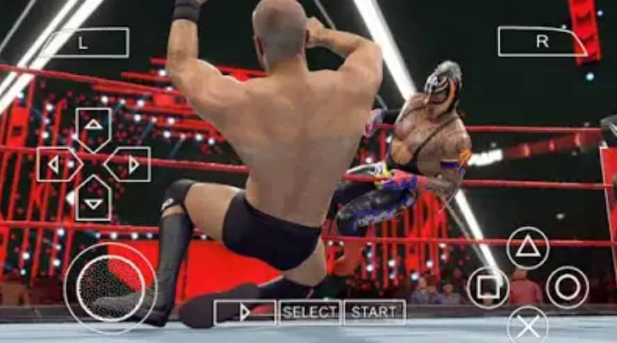 WWE 2K22 PSP features