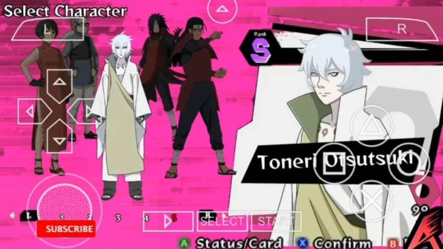 Features of Naruto to Boruto PPSSPP