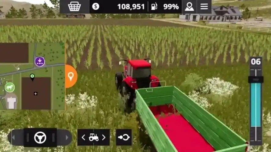 Features of Farming Simulator 20 Android