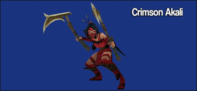 Crimson-Akali
