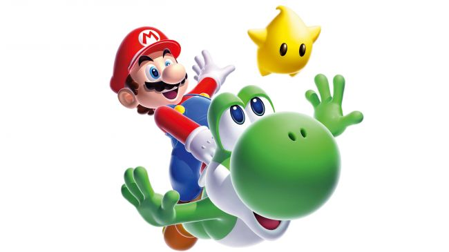 Mario Galaxy Yoshi