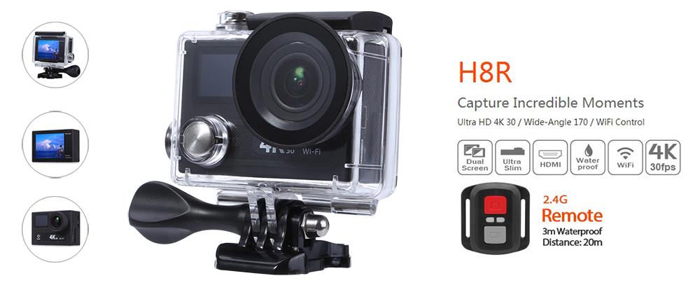 Αδιάβροχη 4K κάμερα στην τιμή των $80.99 | Eken H8R | Gearbest