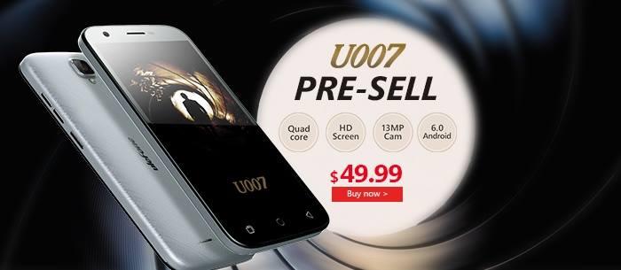 Τετραπύρηνο Smartphone με 44.99€ | Ulefone U007
