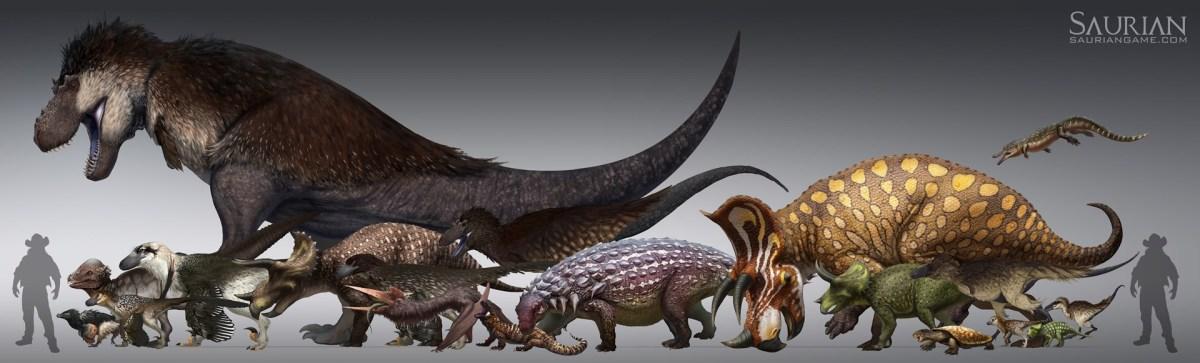Πάρε τον έλεγχο ενός δεινοσαύρου στο Saurian!