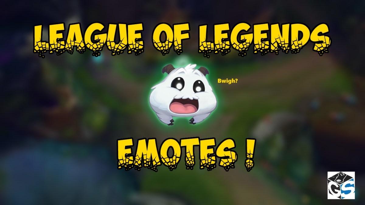 Έρχονται τα emotes στο LoL!