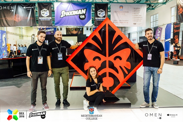 """Omen by HP"" στο Digital Expo 2018 Powered By Stoiximan: «To VR είναι το μέλλον του Gaming!»"