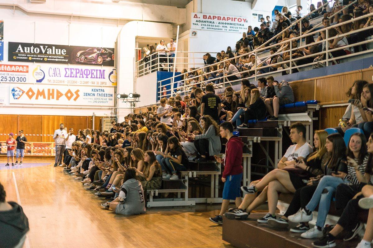 Μεγάλη συμμετοχή μαθητών και νέων στο 1ο generationFX