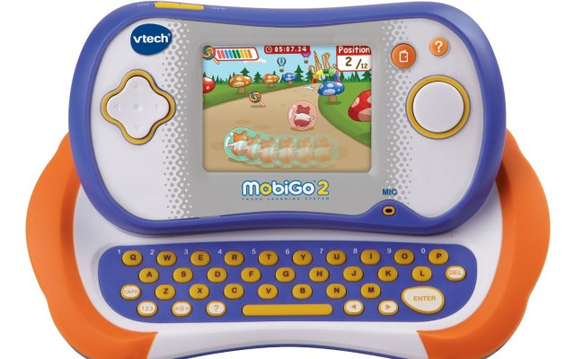 Vtech Mobigo 2 Touch Learning System Games Plus