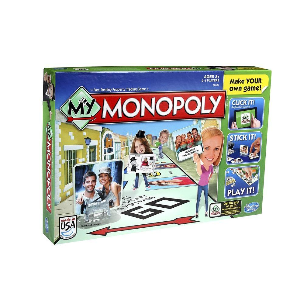 hasbro my monopoly personalized