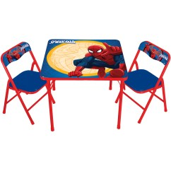 Spiderman Table And Chairs Dunelm Chaise Lounge Chair Patio Marvel Spider Man Erasable Activity Set With 3 Markers