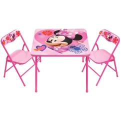 Minnie Table And Chairs Ivory Dining Canada Jakks Pacific Mouse Activity Set Your