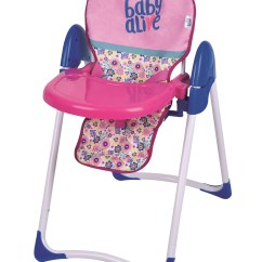 Baby Boy Doll High Chair Toys R Us Chairs Hasbro Alive Deluxe