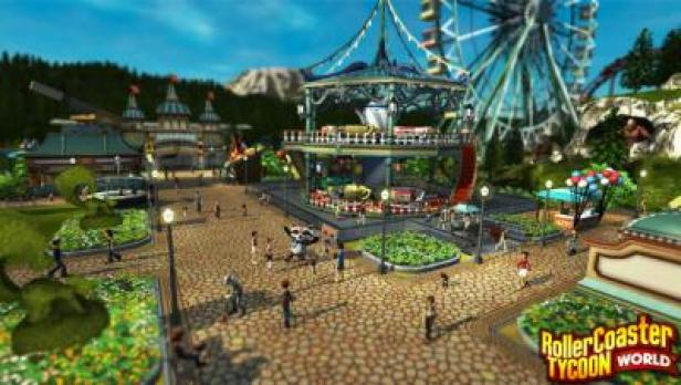 Roller Coaster Tycoon World Features + Crack PC Game Free