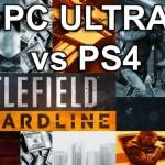 『バトルフィールド ハードライン』PS4 vs PC Ultra スクリーンショット