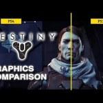 その差は歴然!『デスティニー』ベータ版 PS4 vs PS3 グラフィック比較動画