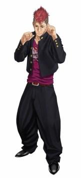 「宇崎総司(CV:佐々木 望)」主人公のクラスメイトで、最初に立ちはだかる相手。元・八津旛中学校の番長で、スピードを活かした攻撃を得意とする。明るい性格で仲間想いなムードメーカー