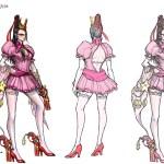 激レア!Wii U版『ベヨネッタ』任天堂コラボ衣装の設定画が公開!