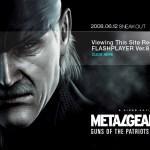 『メタルギアソリッド4』ダウンロード版が12月17日より配信決定!