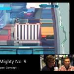 『Mighty No.9』TIF2015で撮影された長尺プレイ動画!稲船氏による解説あり