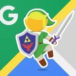 Googleマップのペグマンがリンクの姿に!『トワイライトプリンセスHD』発売記念で