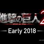 コーエーテクモゲームス『進撃の巨人2』2018年初頭発売へ!ティザー映像が公開