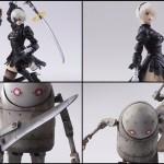 『NieR: Automata』フィギュア『2B&機械生命体』と『機械生命体セット』のブリングアーツが来年発売!予約開始