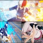 PS4/Switch『僕のヒーローアカデミア One's Justice』轟焦凍、飯田天哉、麗日お茶子のスクリーンショットが公開!