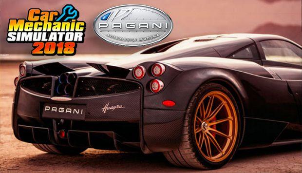 Car Mechanic Simulator 2018 - Pagani DLC Free Download