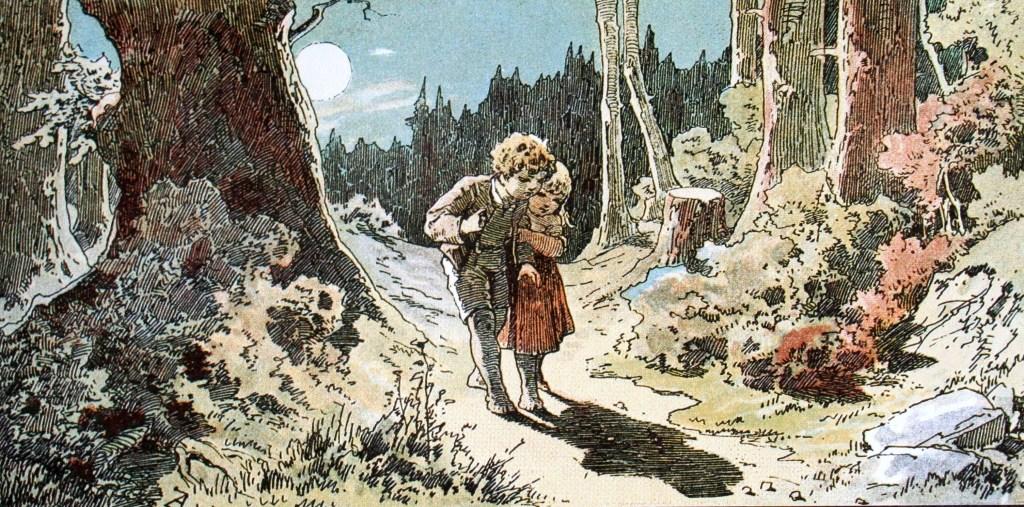 gewalt in Märchen: Hänsel und Grethel