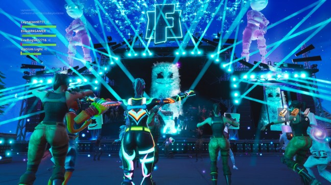 Huge Fornite Marshmello Concert Gaming With CariLee