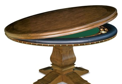 Wood Poker Table Top