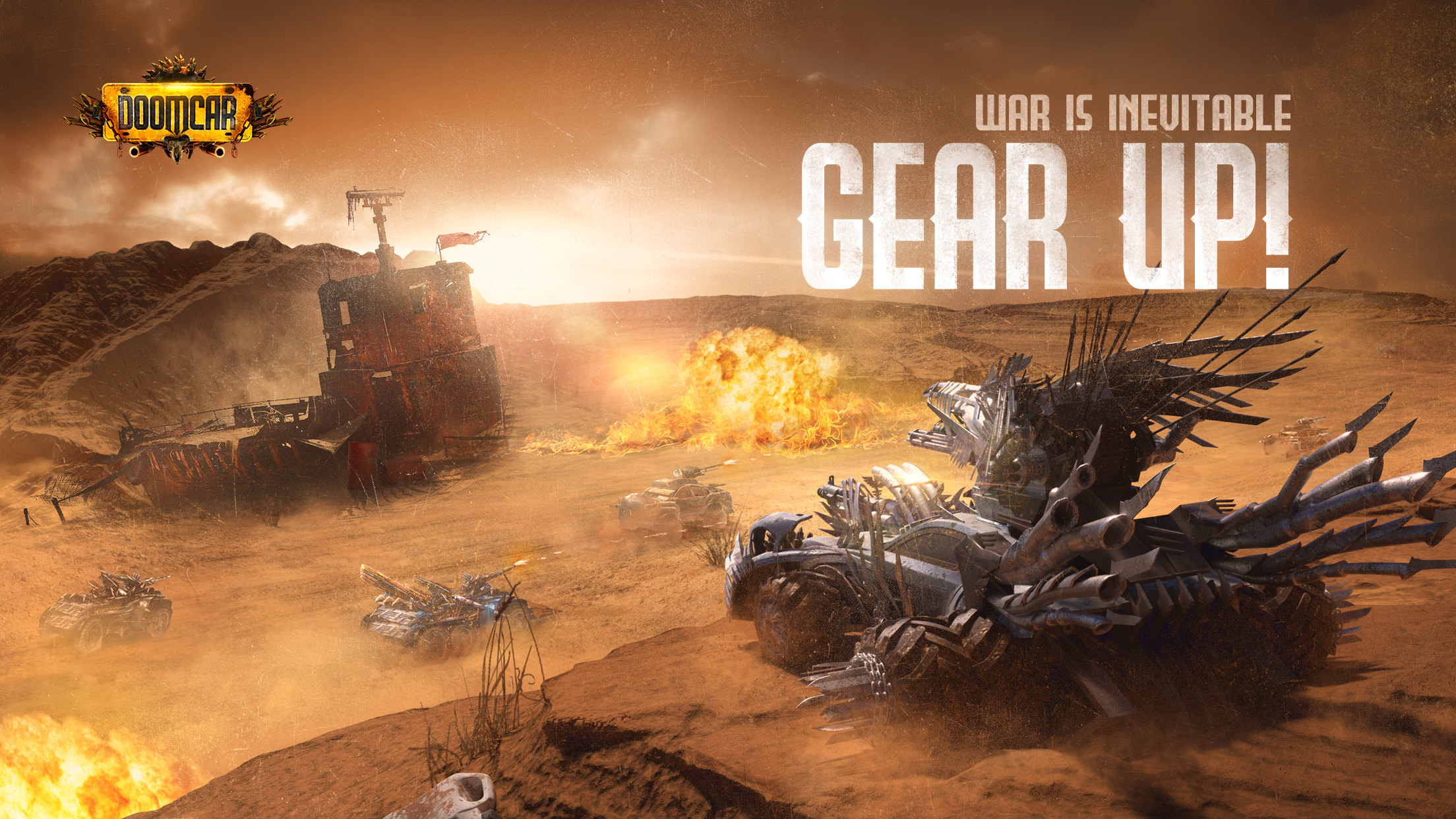 Post-Apocalyptic Strategy RPG 'DoomCar' Open for Pre-Registration Today