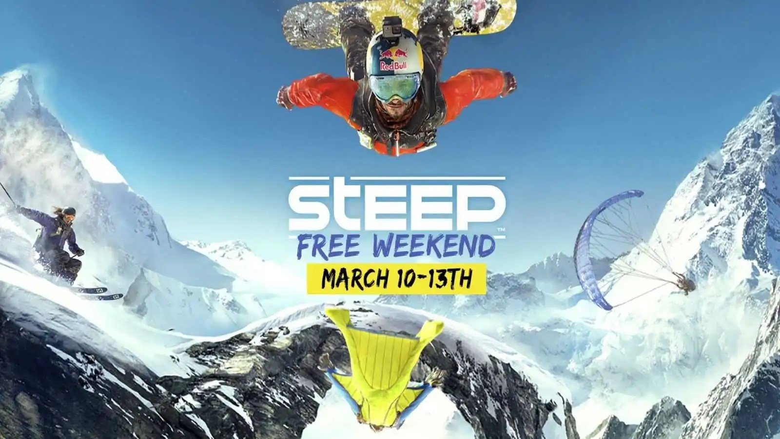 Steep: prova gratuita questo fine settimana su PS4, PC e Xbox One
