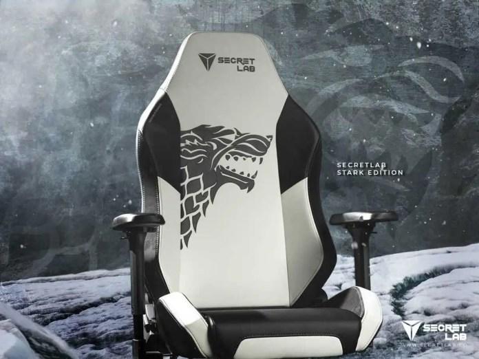 Game of Thrones: Arrivano le sedie da gaming di Stark ...