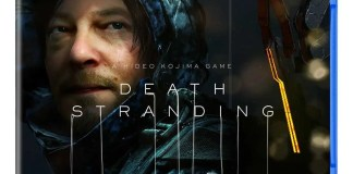 Death Stranding cover PS4