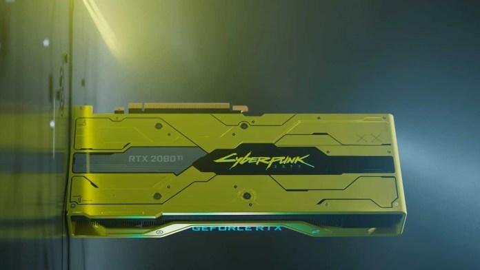 Nvidia RTX 2080 Ti Cyberpunk 2077 3