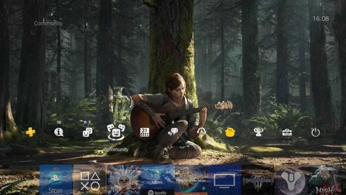 The Last of Us Part II tema PS4