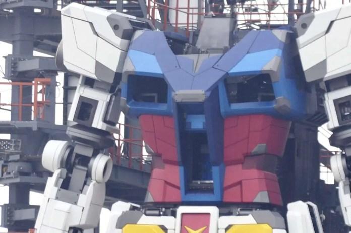 Gundam reale giappone gundamfactory yokohama cammina 2