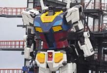 Gundam reale giappone gundamfactory yokohama inchino 1