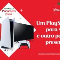 Parceria entre PlayStation e Coca-Cola vai dar dois PS5 para players sortudos
