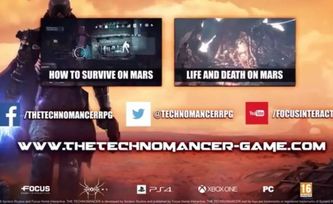 The Technomancer Launches Today On Ps4 Xb1 Pc