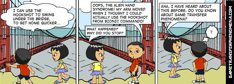 Aliend hand