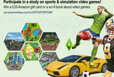 Participate:  Study on sports & simulation video games