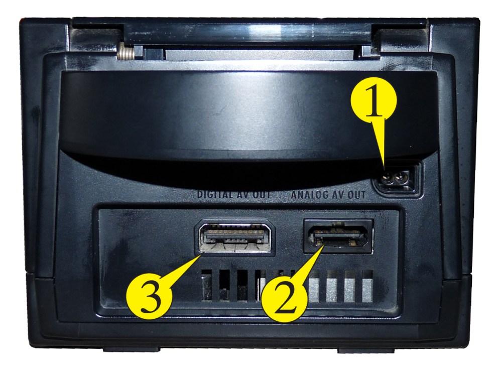medium resolution of plug the nintendo gamecube power supply into the wall