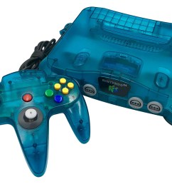 but as was the norm for nintendo by this time there were many color variations available for the n64 and its controllers including some super cool ones  [ 1200 x 856 Pixel ]